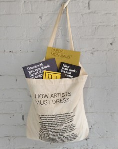 Paper Monument Tote from n+1