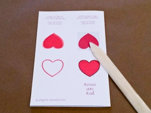 Ginger Burrell - Valentines Flutter Book Directions (1 of 7)