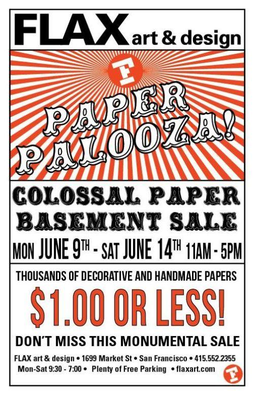 Paper-Palooza-Sale