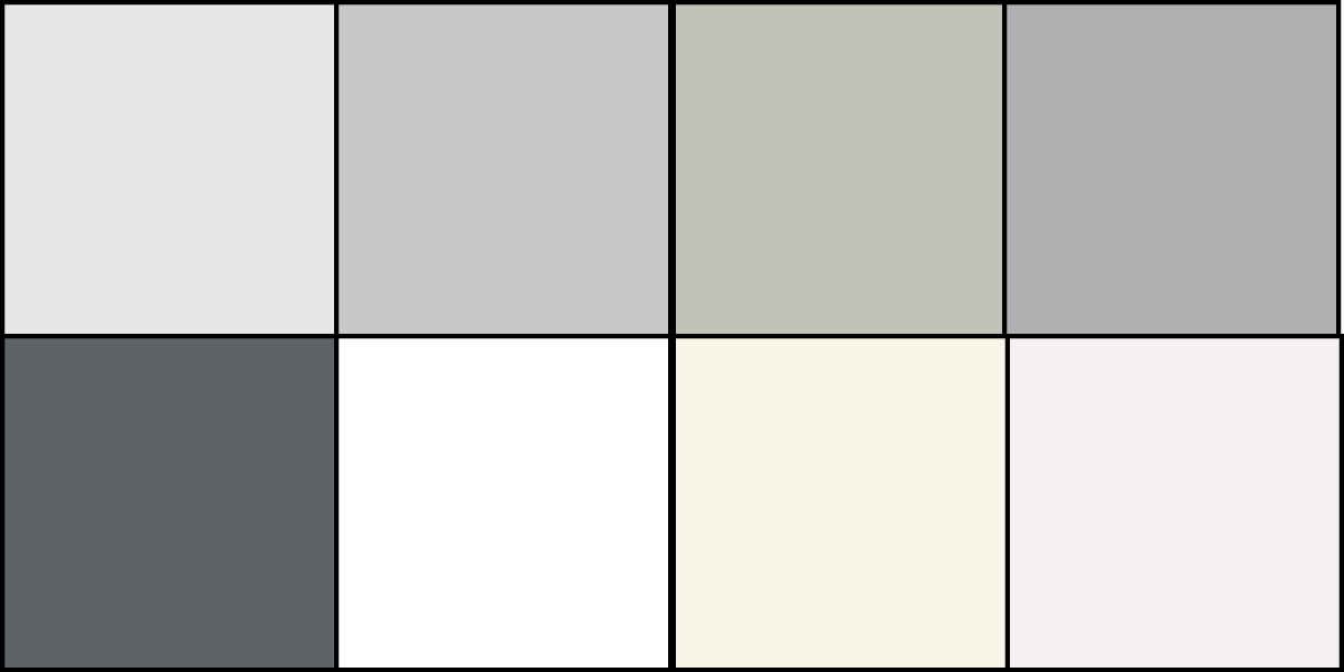Accent Colors For Gray Walls